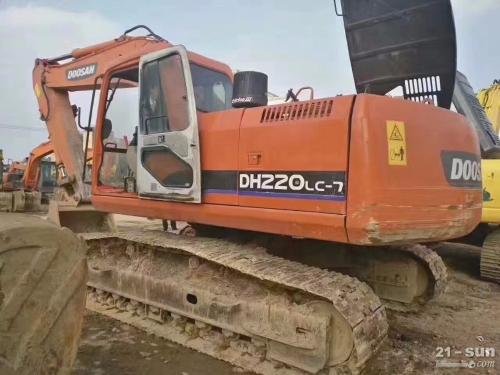 斗山220-7二手挖掘机