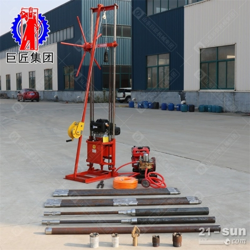 224cc动力s 30米带卷扬勘探钻机省人工轻便岩心取样钻机