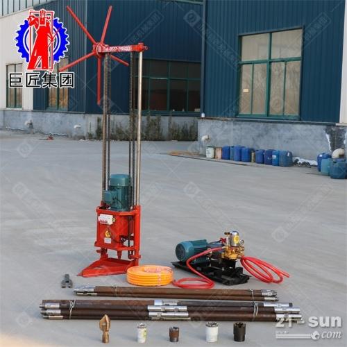 30米轻便取样钻机QZ-2D型三相电勘探岩心钻机取样速度快