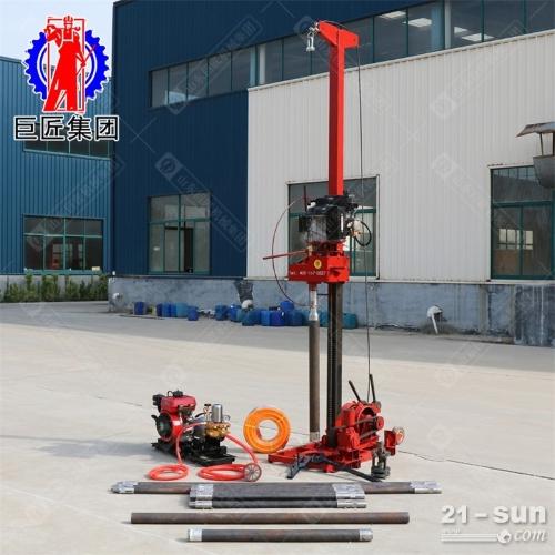 50米地质工程勘探钻机QZ-3轻便取样钻机柴油机动力进尺快