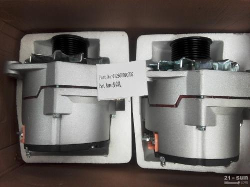 潍柴发动机配件发电机 612600090705  山推推土机