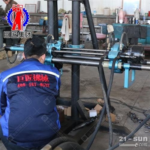 KY-150金属矿山全液压探矿钻机