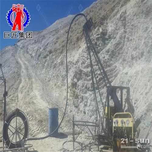 KY-6075金属矿山全液压钢索取心探矿钻机