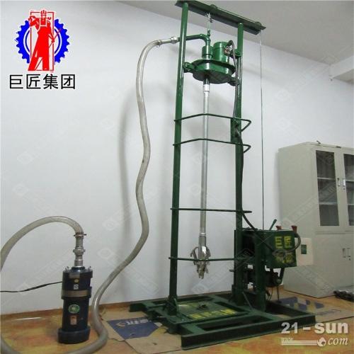 小型全自动打井机便携电动钻井机可在农村田地打灌溉井