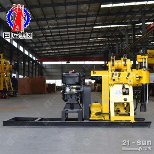 22马力水冷柴油机动力液压水井勘探钻机200米岩心取样钻机