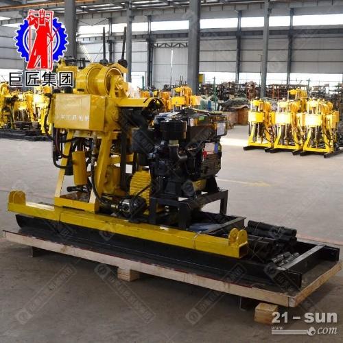 带移机款勘探钻机能打200米的岩芯钻机口径大进尺快的取样钻机