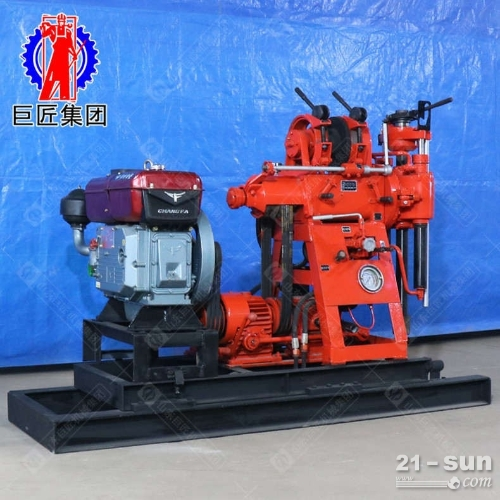 液压勘探钻机哪家强山东济宁找巨匠百米液压岩心取样钻机