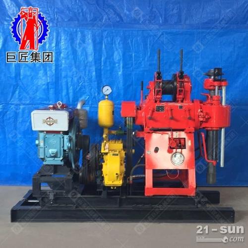 大型打井机钻井机200米液压水井钻机xy200打井设备