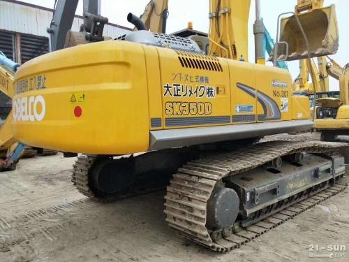 神钢SK350大黄蜂二手挖掘机