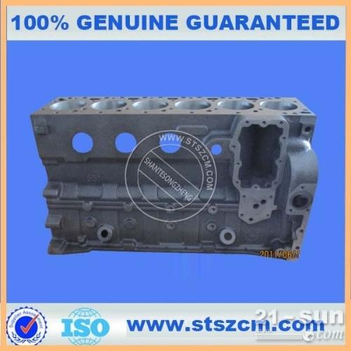 山特松正供应小松挖掘机配件,小松发动机配件PC200-6缸体