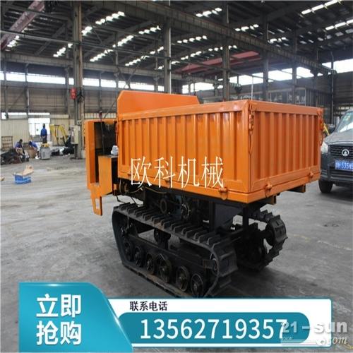 水田履带运输车4吨履带运输车果园农用履带运输车