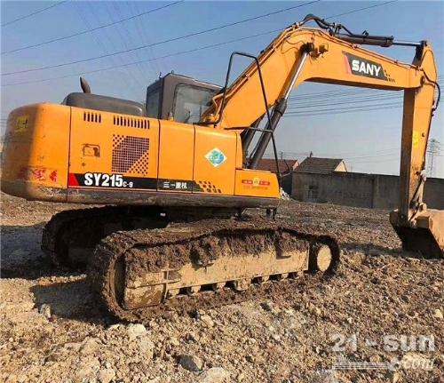 SY215-9二手挖掘机