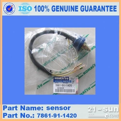小松挖掘机配件,小松电器配件PC200-6传感器7861-91-1420