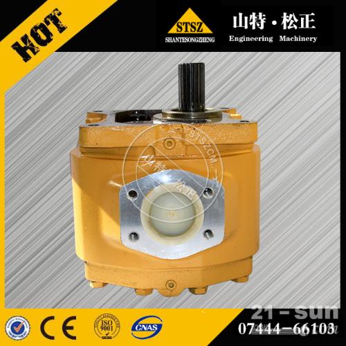 供应D85A-18小松推土机齿轮泵07444-66103规格...