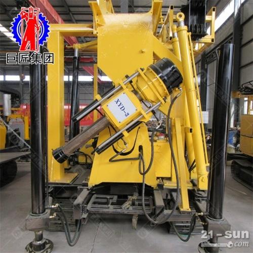履带液压水井钻机XYD-3液压岩心钻机可用于地质勘探的钻机动力充沛