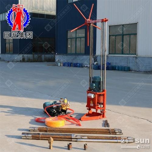 巨匠供应QZ-2A型三相电取芯轻便钻机 20米轻松取样钻机