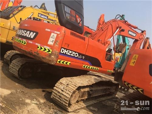 斗山斗山220-7在线配资网挖掘机