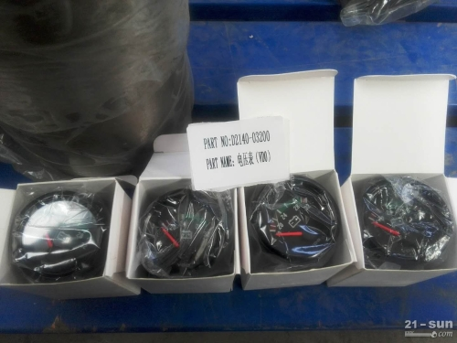 山推SD16系列D2140-03200电压表