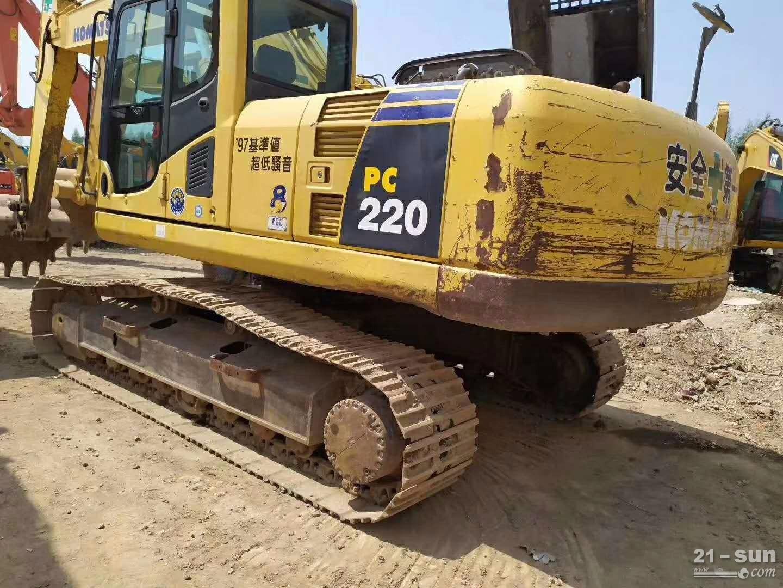 小松220-8二手挖掘机