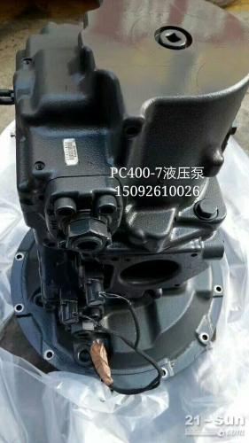 小松纯正PC400-7液压泵总成 挖掘机配件