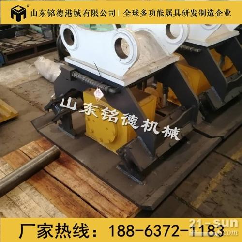 小松230挖掘机振动打夯斗 液压平板夯实器