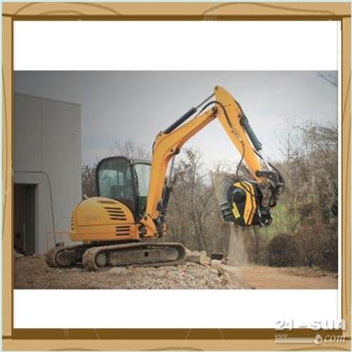 挖掘机破碎斗应用各种工况