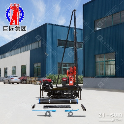 50米轻便液压钻机YQZ-50B工程勘探取样钻机柴油机动力岩芯钻机