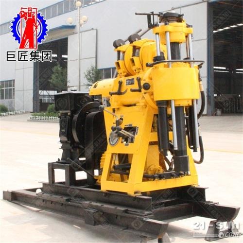 自带移机功能的液压水井地质勘探钻机打130米的岩心取样钻机动力足