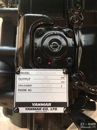 洋马发动机3TNV70发动机总成