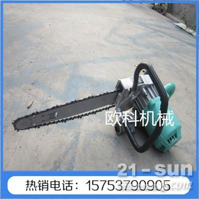 气动混凝土切割机380/220/型手提式金刚石链锯 山上树木切割锯石头切割锯厂家