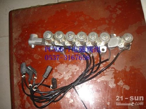 小松挖掘机PC300-7电磁阀组 小松配件