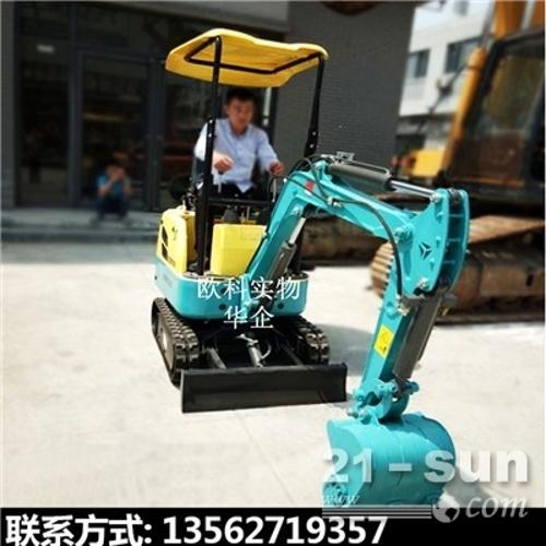 自重1吨的小型挖子可加破碎锤操作小挖
