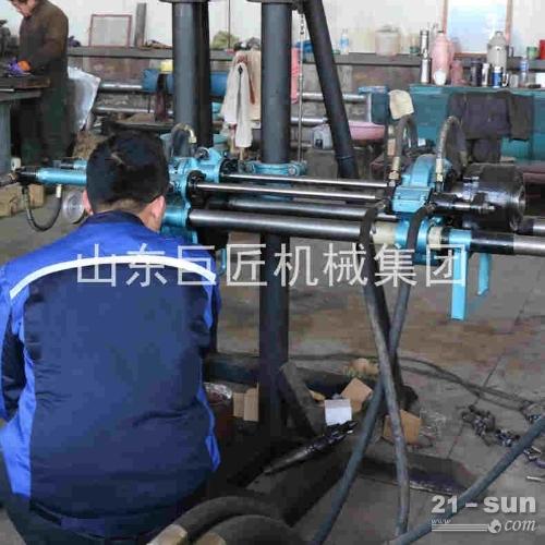 KY-150金属矿山全液压探矿钻机 运输方便 可无级调速