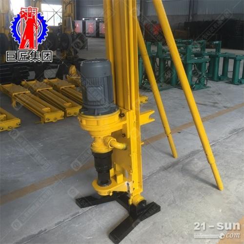 KQZ-100D气电联动潜孔钻机水平钻孔机矿山凿岩边坡支护