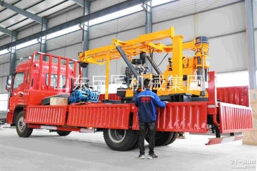 巨匠集团 XYC-3车载式钻机 液压岩芯钻机 取芯钻机