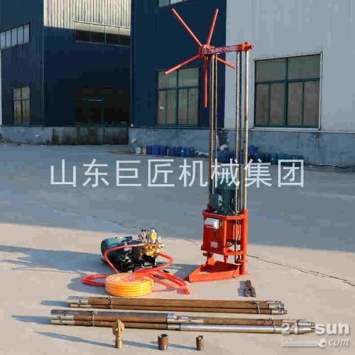 20米轻便钻探机三相电轻便钻机QZ-2A地质勘探钻机