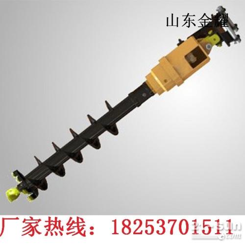 厂家自产自销 液压螺旋钻机 小型螺旋钻机 挖掘机螺旋钻机