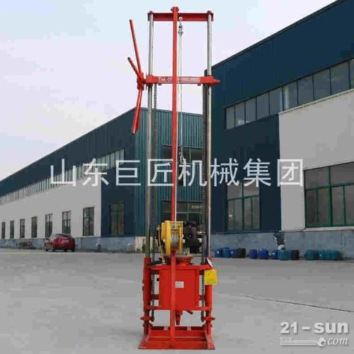 地质勘探钻机QZ-2CS轻便取样钻机20米取芯钻机
