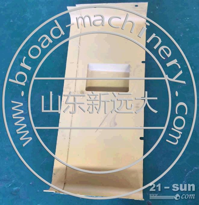 山推国三推土机水箱挡风罩114G-03-02000,山推SD16国三水箱散热器