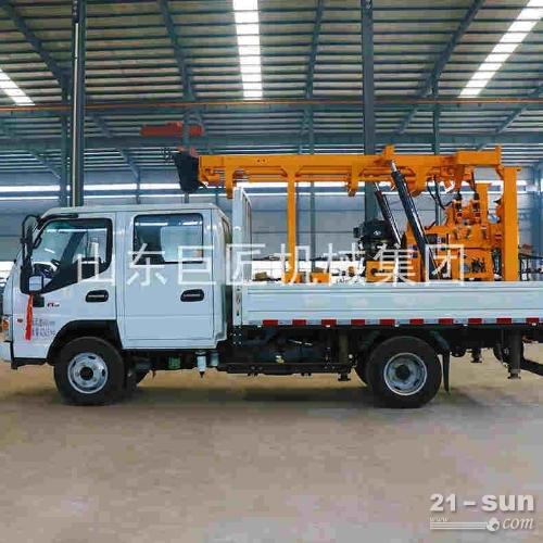 车载钻机 液压岩心钻机XYC-200地质勘探钻机 200米取芯钻机