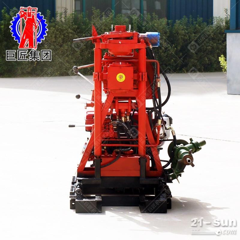 可实行不停机倒杆效率高YQZ-50B型液压轻便勘探、取芯钻机