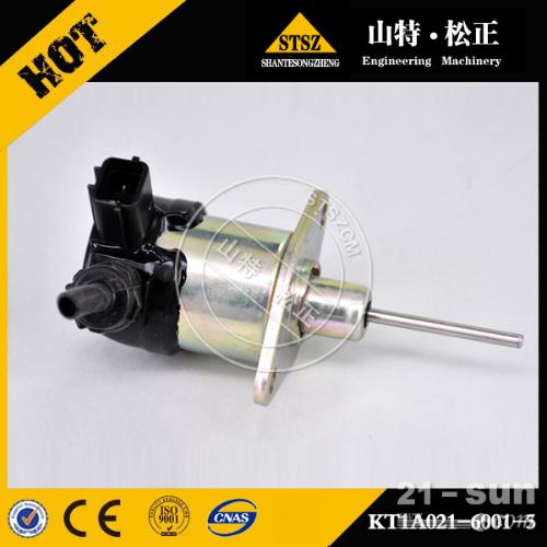 小松挖掘机PC56-7熄火电磁阀KT1A021-6001原厂...