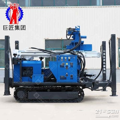 HBZ-2型履带式环保钻机