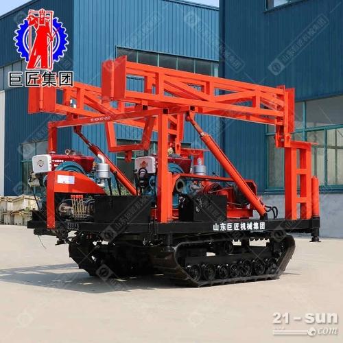 SH30-2D履带式工程勘察钻机钢丝老磁带勘察钻机
