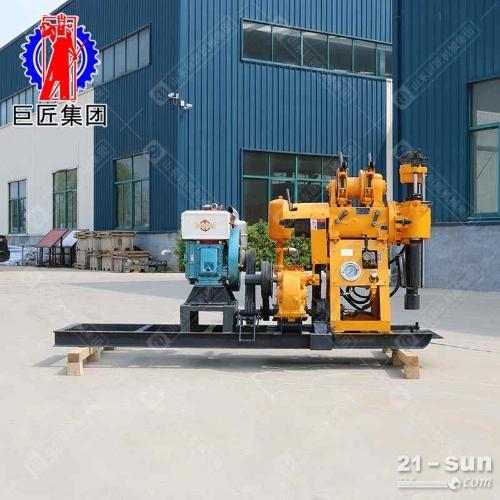 HZ-130Y液压岩芯钻机地质勘探钻机民用水井