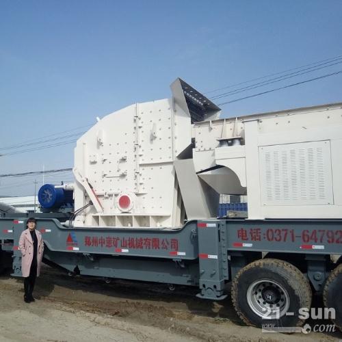 湖北年产30万方移动破碎机多少钱一台