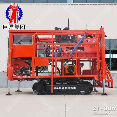 XYD-2C液压岩芯钻机钢制履带岩心取样钻机