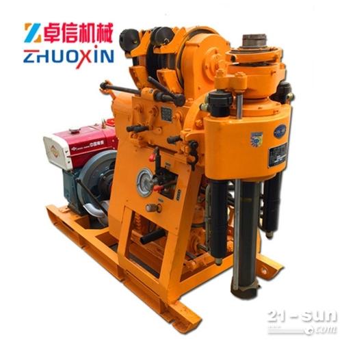 XY-100液压岩芯钻机报价 液压取芯钻机厂家批发