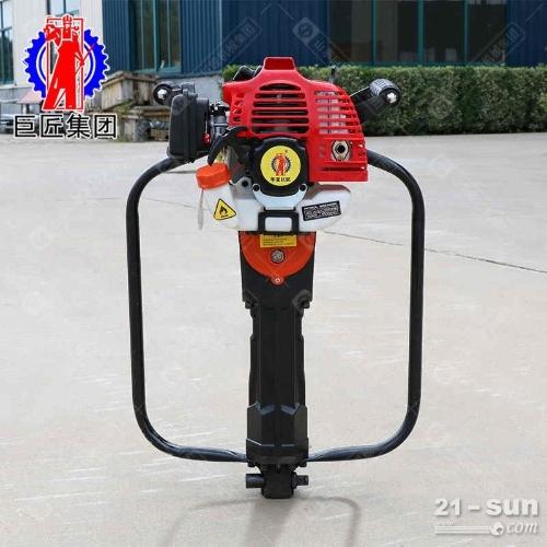 QTZ-1汽油机便携式取土钻机地质勘察钻机