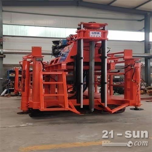 小型300米履带勘查取芯钻机低价促销